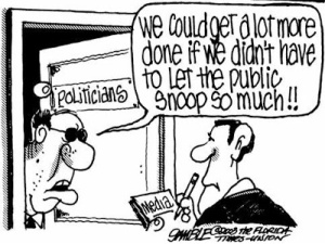open government cartoon
