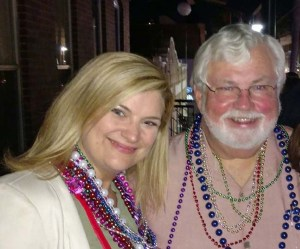 Gabbard with state senator Jack Latvala (R - Clearwater) on February 11th (from Gabbard's Facebook page)